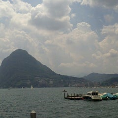 Photo taken at Hotel Lido Seegarten Lugano by Anush W. on 6/23/2013