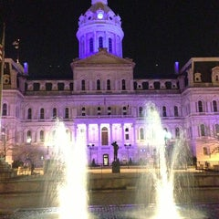 Photo taken at Baltimore City Hall by JB J. on 4/6/2013