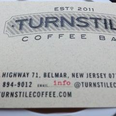 Photo taken at Turnstile Coffee by robert g. on 2/23/2013