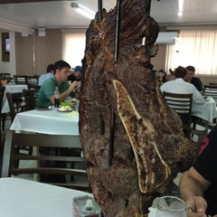Photo taken at Churrascaria Expedicionario do Cogo by Wagner S. on 1/8/2015