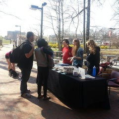 Photo taken at Cook Campus Center by Kristin T. on 4/5/2013