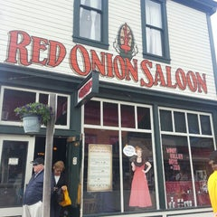 Photo taken at Red Onion Saloon by Marti B. on 7/15/2014