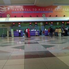 Photo taken at Sultan Mahmud Badaruddin II International Airport (PLM) by Mad R. on 10/25/2012