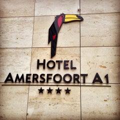 Photo taken at Van der Valk Hotel Amersfoort A1 by Laurens t. on 10/24/2012