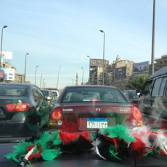 Photo taken at Sphinx Square | ميدان سفنكس by Hana A. on 11/29/2012