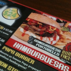 Photo taken at Burger Factory by Maura A. on 11/30/2012