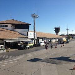 Photo taken at Aeroporto de Porto Seguro (BPS) by Alain J. on 5/5/2013