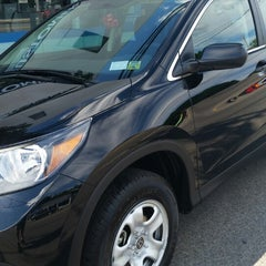 Photo taken at Honda of New Rochelle by ZEH on 7/24/2014