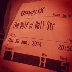 Photo taken at Omniplex Cinema by David D. on 1/30/2014