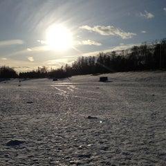 Photo taken at Ольгинский пруд by Alina B. on 3/24/2013