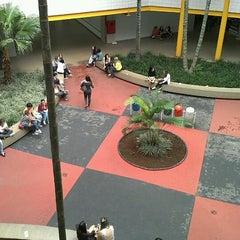 Photo taken at Pontifícia Universidade Católica de Goiás (PUC Goiás) by Eric K. on 12/3/2012