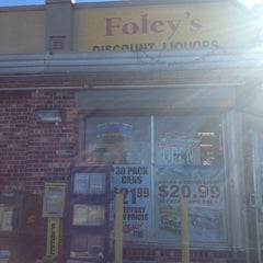 Photo taken at Foley's Liquor Store by Julie A. on 9/28/2013