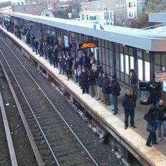 Photo taken at LIRR - Woodside Station by Jill G. on 11/2/2012