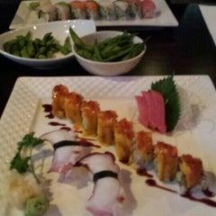 Photo taken at Okinawa- Sushi & Hibachi Steak House by nicholas a. on 10/23/2015