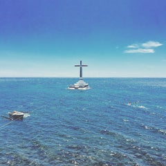 Photo taken at Sunken Cemetery Cross by Martin Oswald II T. on 5/6/2015