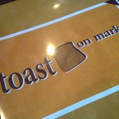 Photo taken at Toast on Market by Scott S. on 2/1/2013