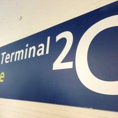 Photo taken at Terminal 2C by Natasha on 6/13/2013