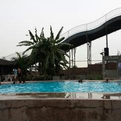 Photo taken at Aquapark by Jensen Roy Q. on 2/28/2014