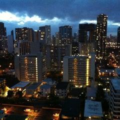 Photo taken at Royal Garden at Waikiki Hotel by Tirrell W. on 4/12/2013