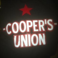 Photo taken at Cooper's Union by James L. on 4/11/2013