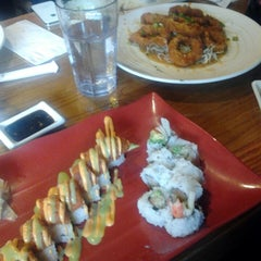 """Photo taken at Sushi.com by Norm """"Doc"""" W. on 10/26/2013"""