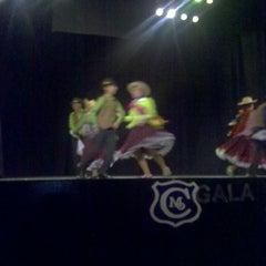 Photo taken at Teatro Novedades by Leonardo M. on 11/30/2013