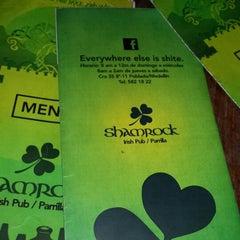 Photo taken at Shamrock Irish Pub by Alejo U. on 3/24/2014