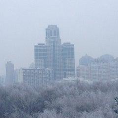 Photo taken at Пруд на Ленинском by Кристина Т. on 1/20/2013