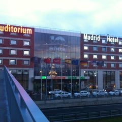Foto tomada en Madrid Marriott Auditorium Hotel & Conference Center por Konstantin S. el 1/16/2013