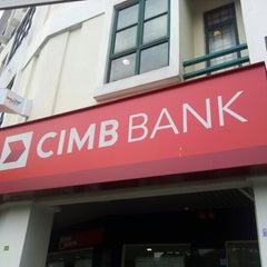 Photo taken at CIMB Bank by Shafiq R. on 11/8/2012