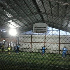 Photo taken at KutaMandiri Futsal by Aliza F. on 11/14/2012