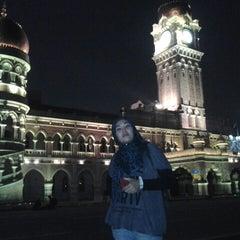 Photo taken at Independence Square (Dataran Merdeka) by Sue S. on 4/21/2013