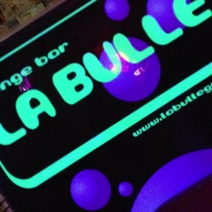 Photo taken at La Bulle by ThiB on 3/29/2013