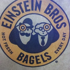 Photo taken at Einstein Bros Bagels by Norm S. on 12/23/2012