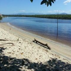 Photo taken at Praia de Itapoá by Rick H. on 4/17/2013