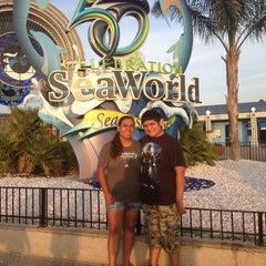 Photo taken at Nautilus Amphitheater at SeaWorld by Pepc C. on 7/9/2014