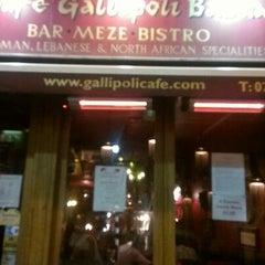 Photo taken at Gallipoli Bazaar by Sarah B. on 11/22/2012