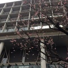 Photo taken at 慶應義塾大学 来往舎 by Hiroshi O. on 2/28/2014
