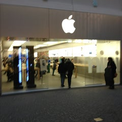 Photo taken at Apple Store, Providence Place by Matt C. on 3/3/2013