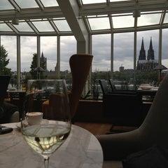 Photo taken at Hyatt Regency Cologne by Teodoras G. on 9/19/2013