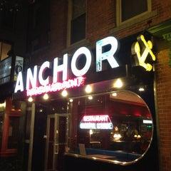 Photo taken at Anchor Restaurant & Bar by Clayton C. on 4/19/2013