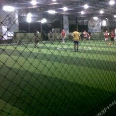 Photo taken at Cimahpar Futsal by Agung P. on 12/5/2013