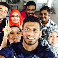 Photo taken at Galaxy Futsal Bangi by Jija 🌸 on 9/15/2015