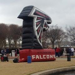 Photo taken at Georgia Dome by Senaca W. on 1/13/2013