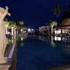 Photo taken at RIU Palace Hammamet Marhaba by Валерий М. on 7/9/2014
