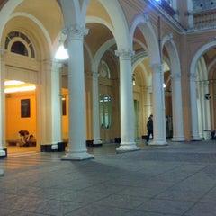Photo taken at Facultad de Ciencias Económicas (UBA) by Sebastian S. on 3/26/2013