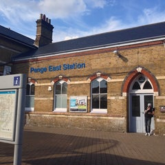 Photo taken at Penge East Railway Station (PNE) by Takeshi I. on 8/3/2013