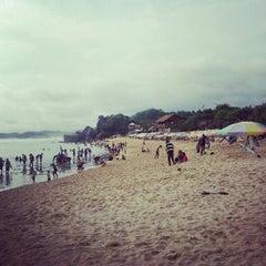 Photo taken at Pantai Indrayanti by Jaxo L. on 11/18/2012
