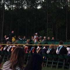 Photo taken at Fleming Island High School by Robert R. on 6/1/2013