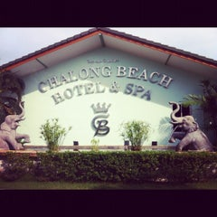 Photo taken at Chalong Beach Hotel & Spa by Irene P. on 11/3/2012